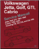 1995 - 2002 Cabrio, 1993 - 1999 Jetta, Golf, GTI Volkswagen Original Factory Repair Manual (SKU: BENTLEY-VG99)