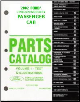 2002 Complete Parts Catalog for Ford, Lincoln and Mercury Passenger Cars (Multiple Volumes) (SKU: FCS775302)