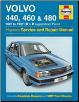 1987 - 1997 Volvo 440, 460 and 480 Gasoline Models, Haynes Service & Repair Manual (SKU: 1859605656)