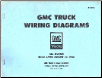 1966 - 1967 GMC Truck All Models built after August 22, 1966 - Wiring Diagrams (SKU: X6705)