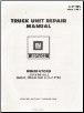 1981 GM Truck Unit Repair Manual Generators (SKU: X6Y06C)