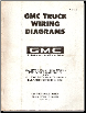 1971 GMC Truck, All 4500 thru 6500 Models (after 8/10/1970) & 7500 - 9502 Models (after 10/12/70) - Wiring Diagrams (SKU: X7105)