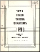 1979 GMC Truck All Medium and Heavy Duty Models - Wiring Diagrams (SKU: X7939)