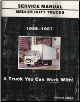 1986 - 1987 GMC Medium Duty Trucks Forward Models Service Manual (SKU: X8635)