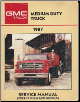1987 GMC Medium Duty Truck Service Manual (SKU: X8733)