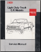 1989 GMC & Chevy Light Duty C/K Models Truck Factory Service Manual & Fuel and Emissions Manual (SKU: X8931X8936)