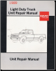 1989 GMC Light Duty Truck Unit Repair Manual (SKU: X8937)