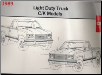 1989 GMC Light Duty Trucks C/K Models - Electrical Diagnosis and Wiring Diagrams Manual (SKU: X8942)