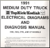 1991 GMC TopKick/Kodiak Medium Duty Trucks C5H, C6H, C7H & S7 Models Electrical Diagnosis & Wiring Diagrams (SKU: X9141)