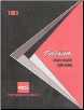 1993 GMC Typhoon Factory Service Manual Supplement (SKU: X9376)