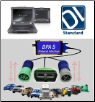 Detroit Diesel/Mercedes DiagnosticLink STANDARD DDDL on Dell Rugged XFR-E6400 w/ DPA-5 Adapter (SKU: XFR-E6400-DDDL-STD)