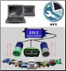 Mack / Volvo PTT (Premium Tech Tool) Software & Dell Fully Rugged XFR-E6400 with DPA-5 Adapter Preloaded! (SKU: XFR-E6400-PTT)