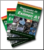 SPANISH VERSION: ASE Test Prep Manuals -- Automobile A1 - A8; 8 Volume Set (SKU: 140186497X)