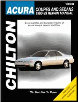 1986 - 1993 Acura Coupes and Sedans Chilton's Total Car Care Manual (SKU: 0801984262)
