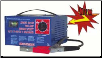 Associated 6 / 12 Volt Battery Charger, Portable & Fast (SKU: AOE6015A)
