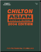 2004 Chilton's Asian Model Service Manual (2000 - 2003 Year coverage) (SKU: 1401842356)