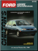 1994 - 1997 Ford Aspire Chilton's Total Car Care Manual (SKU: 0801989728)