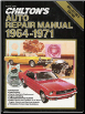 1964 - 1971 Chilton's Collector Series, Auto Repair Manual (SKU: 0801959748)