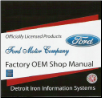 1966 Ford Thunderbird Factory Shop Manual & Parts Book on CD-ROM (SKU: ford-thunderbird-1966)