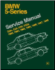 1982 - 1988 BMW 5 Series (E28) 528e, 533i, 535i, 535is Bentley Service Repair Manual
