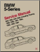 1989 - 1995 BMW 5-Series (E34) 525i, 530i, 535i, 540i, including Touring Official Factory Service Manual