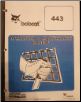 Bobcat 443 Skid Steer Operator Manual (SKU: BC-O-440)