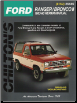 1983 - 1990 Ford Manual: Ranger & Bronco II Chilton's Total Car Care Manual (SKU: 0801989671)
