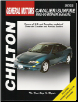 1995 - 2000 Chevrolet Cavalier & Pontiac Sunfire Chilton's Total Car Care Manual (SKU: 0801991145)