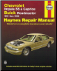 1991 - 1996 Chevrolet Impala SS & Caprice & Buick Roadmaster, Haynes Repair Manual (SKU: 1563922495)