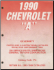 "1990 Chevrolet ""A"" Celebrity Parts and Illustration Catalog (SKU: ChevCatalog17a)"