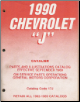 "1990 Chevrolet ""J"" Cavalier Parts and Illustrations Catalog (SKU: ChevCatalog17J)"
