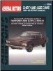 1964 - 1988 Chevrolet Mid-Size Cars Chilton's Total Car Care Manual (SKU: 0801985943)