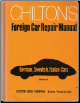 1959 - 1971 Chilton's Foreign Car Repair Manual-  German, Swedish, Italian Cars Edition (SKU: 0801956323)