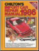 1979 - 1986 Chilton's Import Auto Repair Manual (SKU: 0801975778)