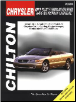 1995 - 1998 Chrysler / Dodge - Cirrus, Stratus, Sebring, Avenger, Breeze Total Car Care Manual (SKU: 0801990904)