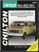 1967 - 1988 Dodge & Plymouth Vans Chilton's Total Car Care Manual (SKU: 0801990637)