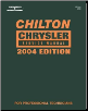 2004 Chilton's Chrysler Service Manual (2000 - 2003 Year coverage) (SKU: 1401842399)