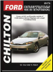 1995 - 1999 Ford Contour, Mercury Mystique & Cougar Chilton's Total Car Care Manual (SKU: 0801991056)