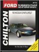 1983 - 1997 Ford Thunderbird & Mercury Cougar Chilton's Total Car Care Manual (SKU: 0801991331)