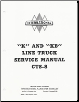 "1940.5 - 1949 ""K"" & ""KB"" Line International Truck Factory Service Manual (SKU: CTS-8)"