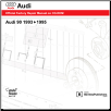 1993 - 1995 Audi 90:  Official Factory Repair Manual on CD-ROM (SKU: BENTLEY-A905)