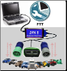 Volvo PTT (Premium Tech Tool) Software & Dell Fully Rugged XFR-D630 with DPA-5 Adapter Preloaded! (SKU: XFR-D630-VOLVO)
