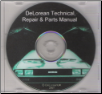 DeLorean Technical, Repair & Parts Manual on CD (SKU: DELOREANCD)