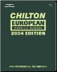 2004 Chilton's European Service Manual  (2000 - 2003 Year coverage) (SKU: 1401842348)