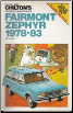 1978 - 1983 Ford Fairmont & Mercury Zephyr Chilton's Repair & Tune-up Guide (SKU: 0801973120)