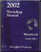 2002 Ford Windstar Factory Service Manual   2 Volume Set (SKU: FCS1224902-1-2)