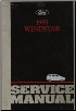 1995 Ford Windstar Service Manual (SKU: FCS1224995)