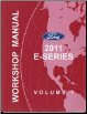 2011 Ford E-Series Factory Workshop Manual - 2 Volume Set (SKU: FCS1225111-2)