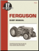 Ferguson I&T Tractor Service Manual FE-2 (SKU: FE2-0872881180)