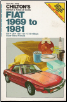 1969-1981 Fiat Chilton's Repair & Tune-Up Guide (SKU: 0801970423)